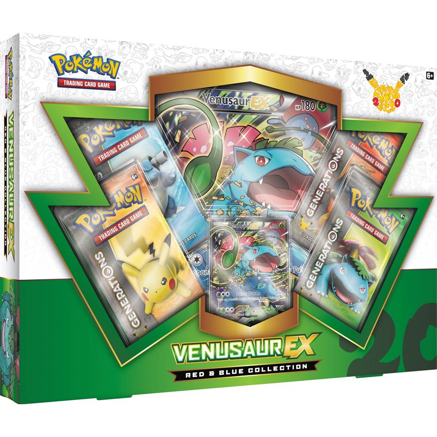 Pokemon TCG Red & Blue Venusaur