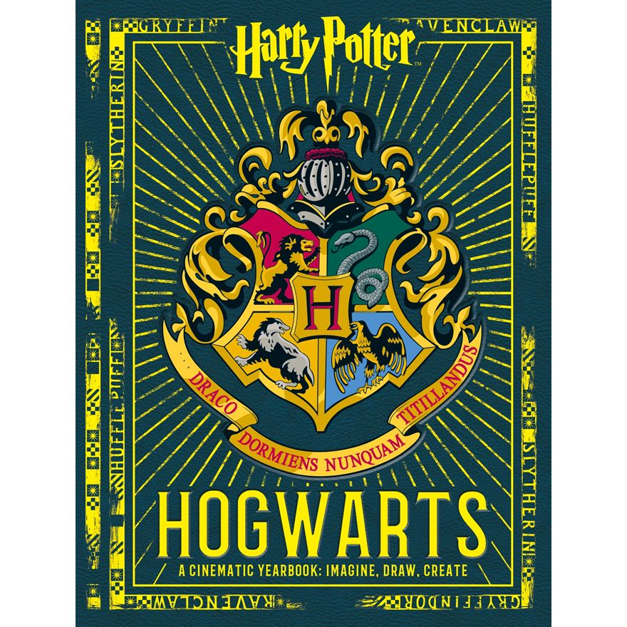 Harry Potter Hogwarts Yearbook 2017