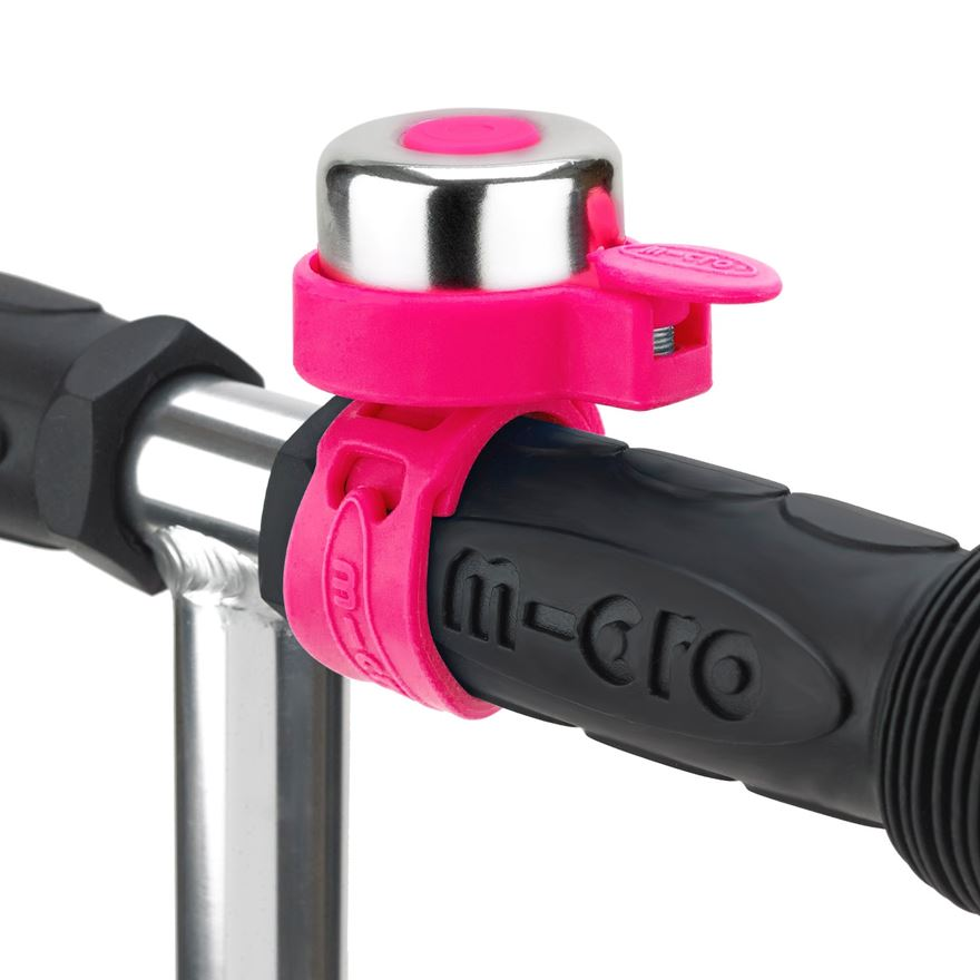 Micro Neon Pink Bell image-0