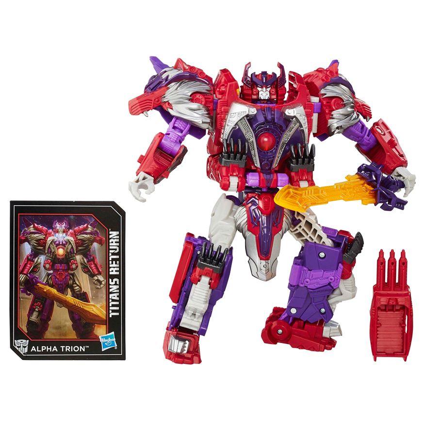 Transformers Generations Titans Return Autobot Sovereign and Alpha Trion image-0