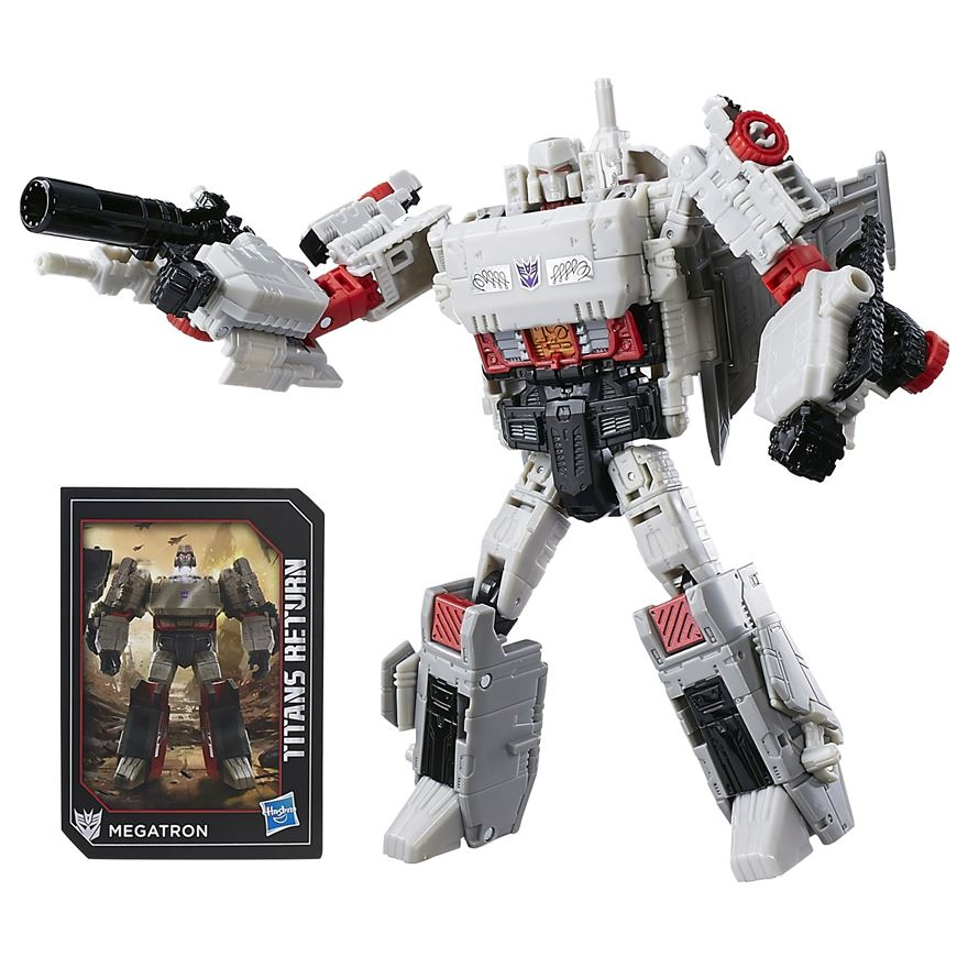 Transformers Generations Titans Return Megatron and Doomshot image-0