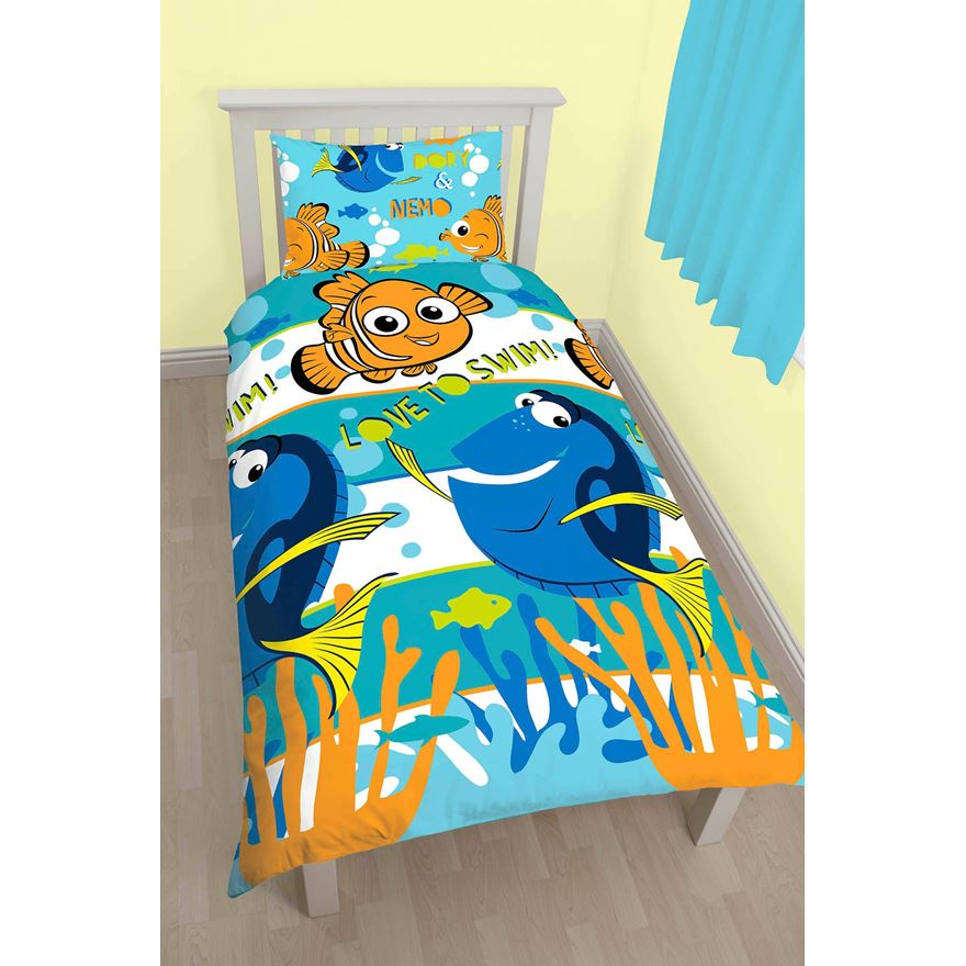 Finding Dory Single Rotary Duvet Set image-0