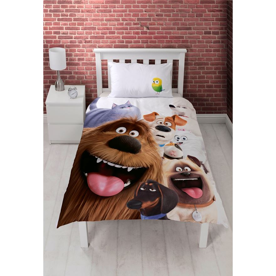 Secret Life of Pets Single Duvet Set image-0