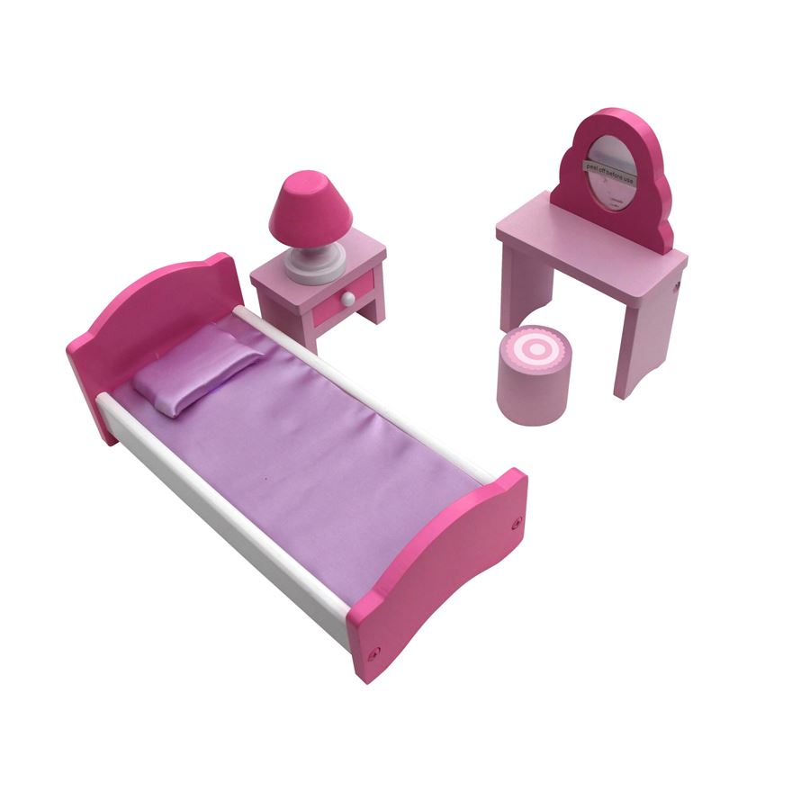 Doll's Bedroom Furniture Set image-0