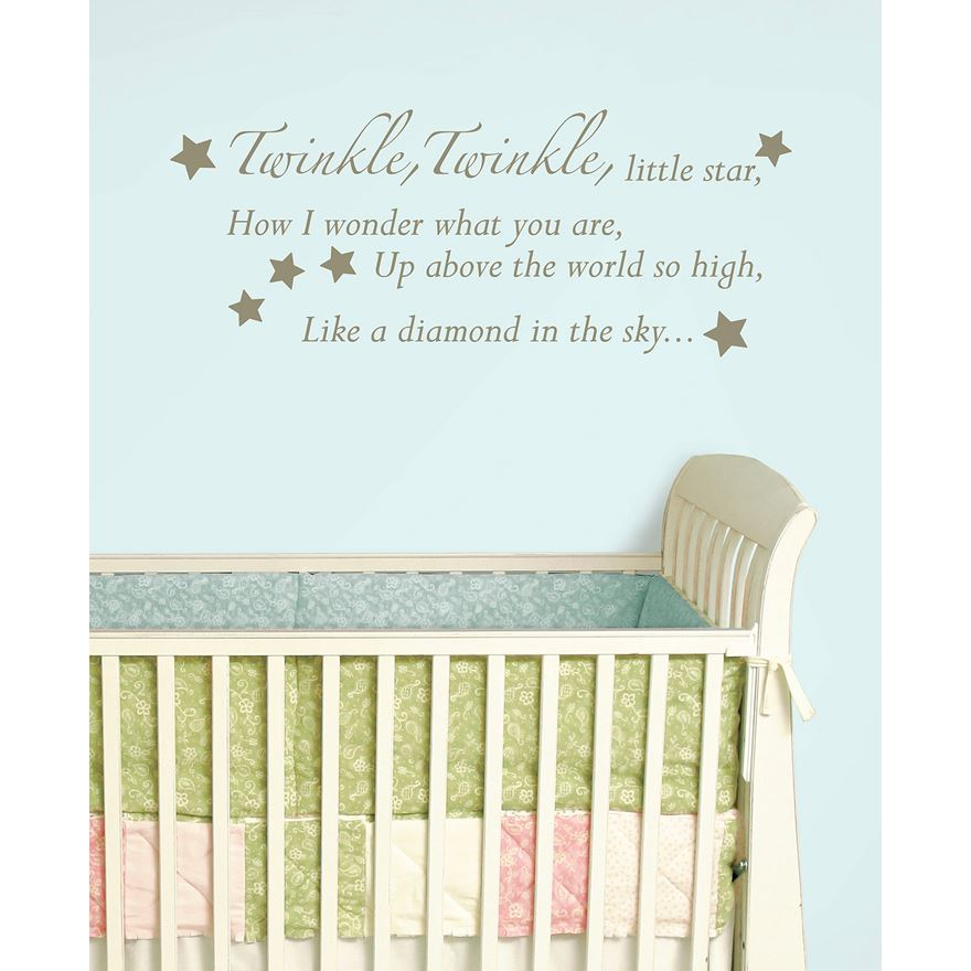 WallPops Wall Wish Twinkle Twinkle Little Star image-0