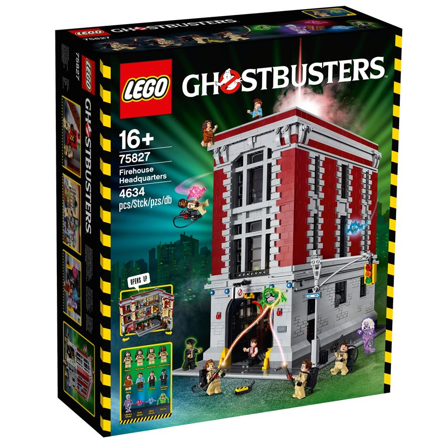 LEGO Ghostbusters Firehouse Headquarters 75827 image-0