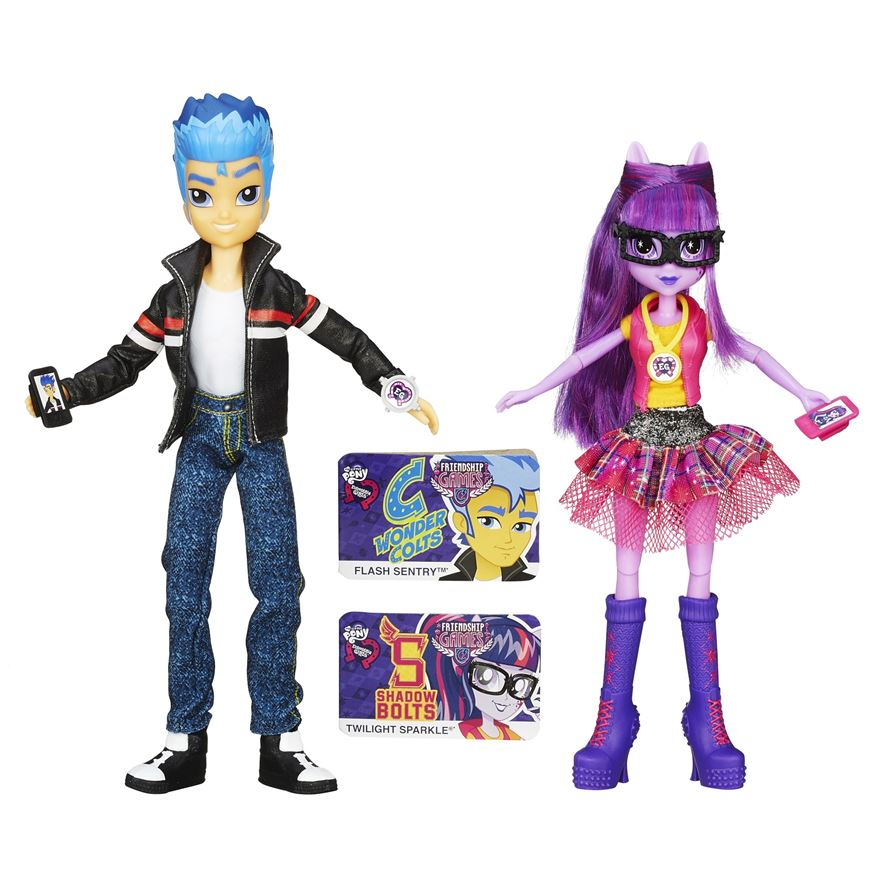 My Little Pony Equestria Girls Flash Sentry and Twilight Sparkle 2-Pack image-0