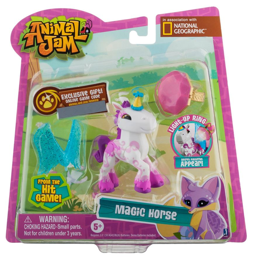 Animal Jam Magic Horse With Ring image-0