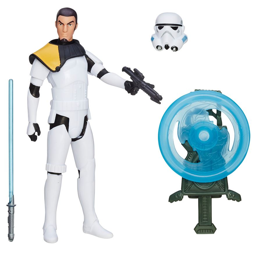 Star Wars Rogue One Rebels Kanan Jarrus (Stormtrooper Disguise) Figure image-0