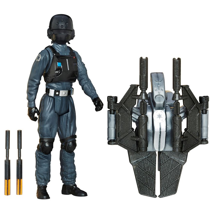 Star Wars Rogue One Imperial Ground Crew Figure image-0