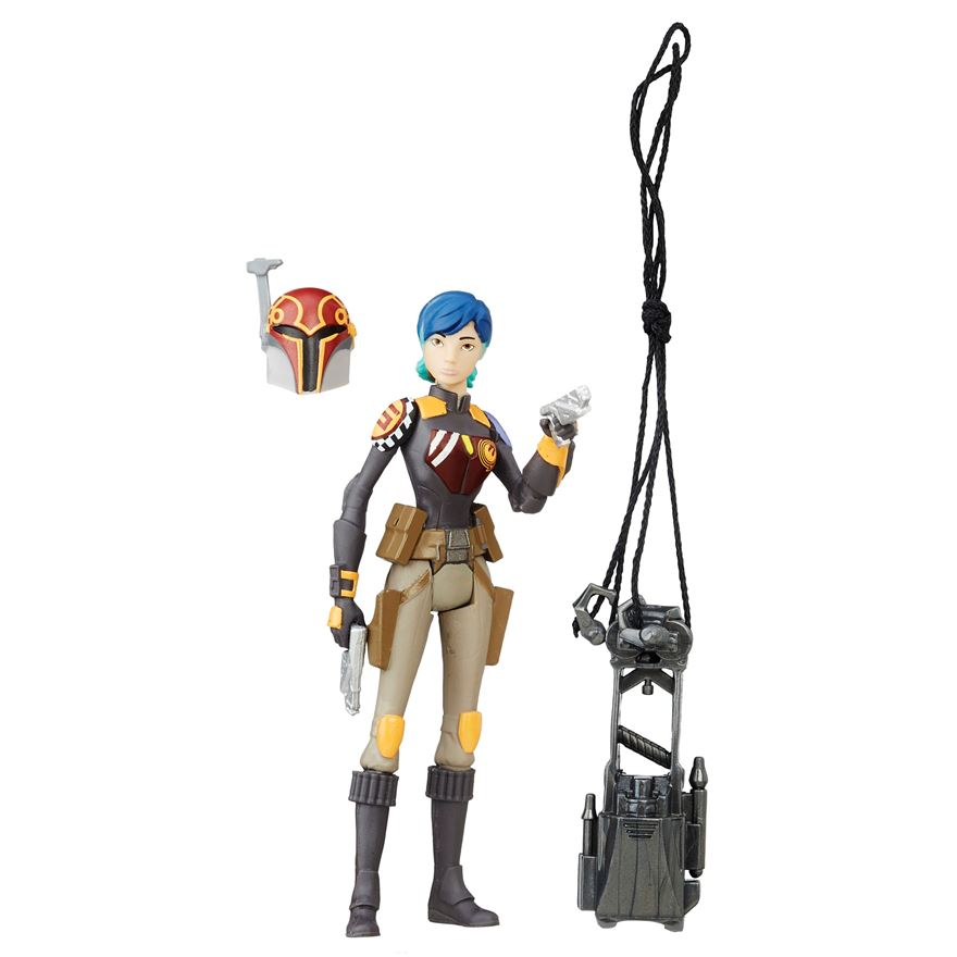 Star Wars Rogue One Rebels Sabine Wren Figure image-0