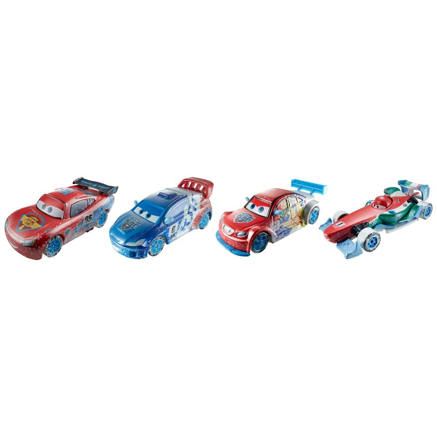Disney Cars Ice Racers Moscow Race 4-Pack image-0