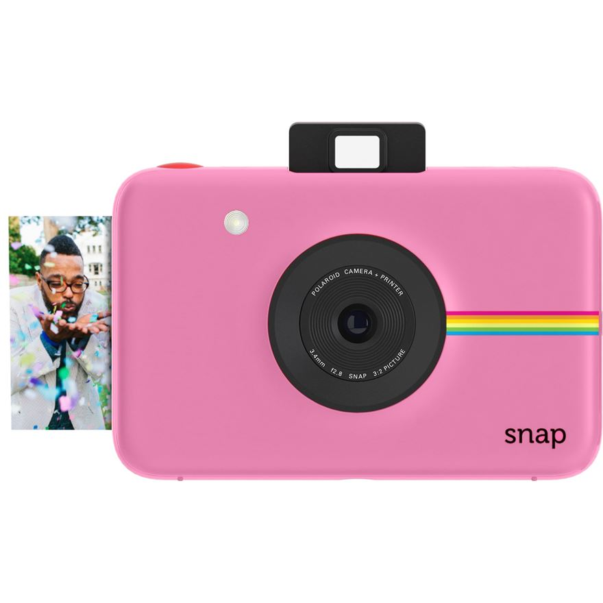 Polaroid Snap Pink 10MP Instant Print Digital Camera image-0
