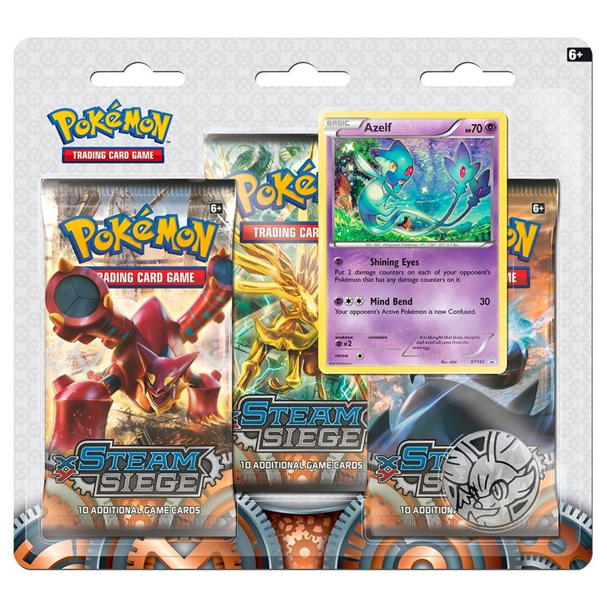Pokémon XY11 Steam Siege Triple Booster image-0