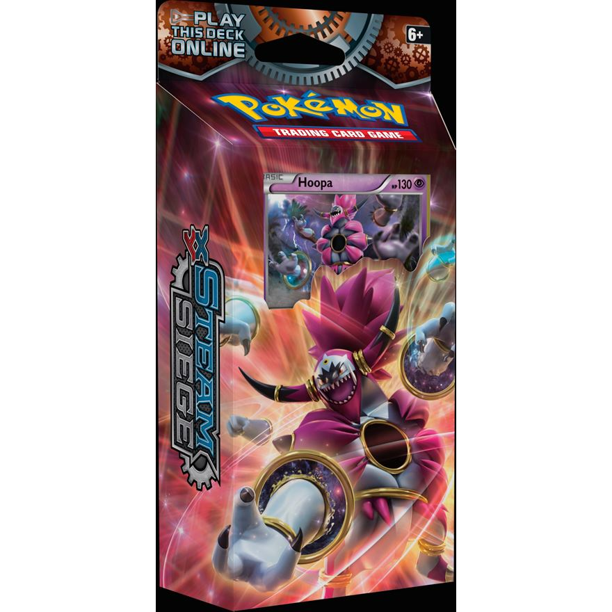 Pokémon XY11 Steam Siege Theme Deck image-0