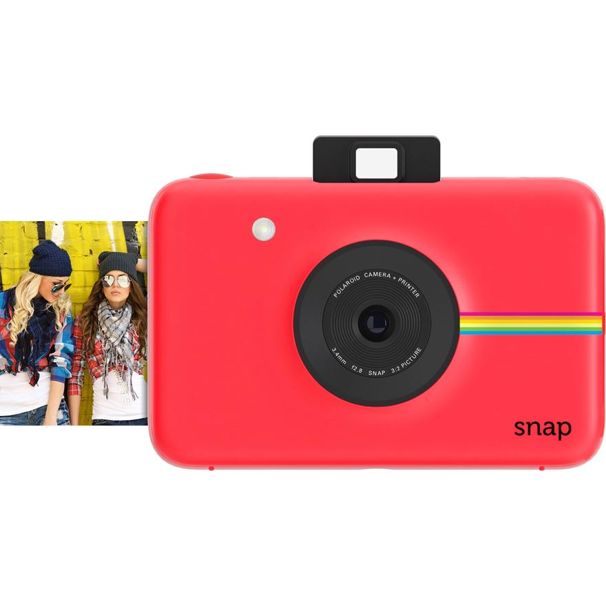 Polaroid Snap Red 10MP Instant Print Digital Camera Includes 20 Shots image-0