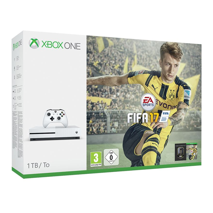 Xbox One S 1TB FIFA 17 Bundle image-0