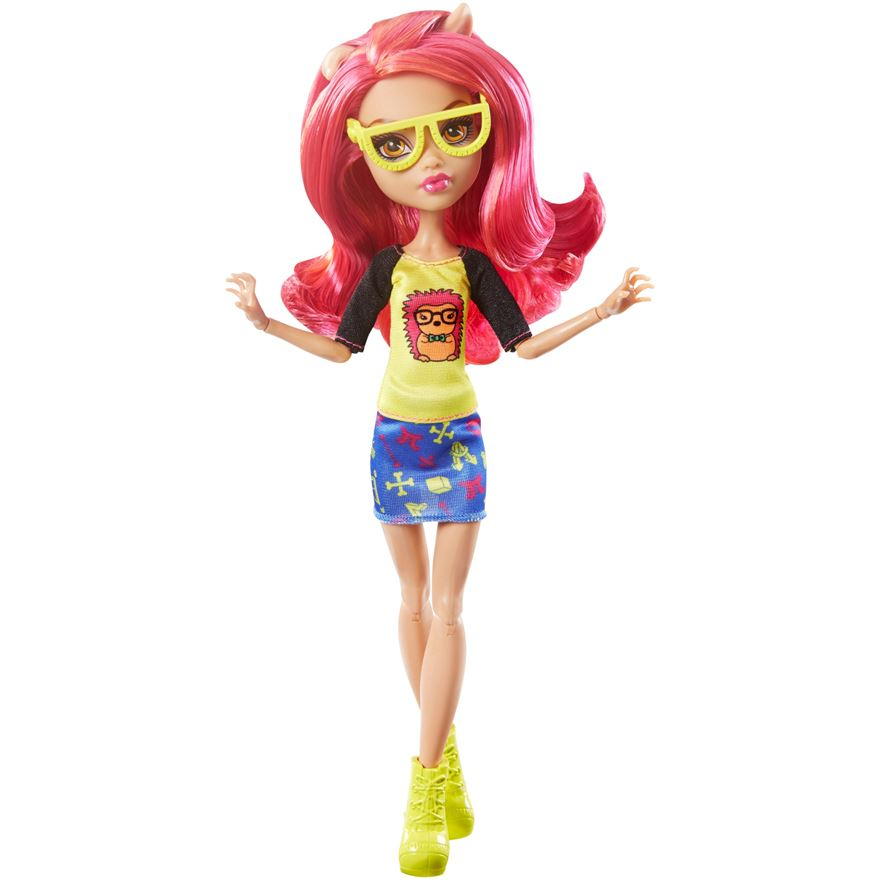 Monster High Howleen Wolf Geek Shriek Doll image-0