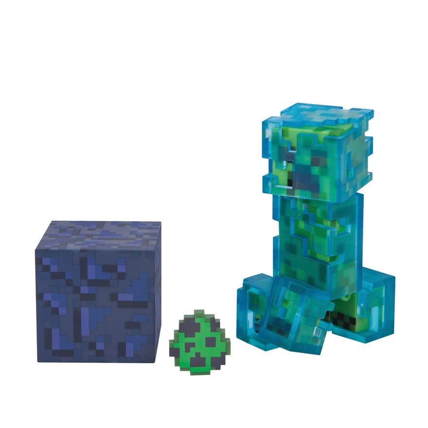 Minecraft Charged Creeper 7cm Figure Series 3 image-0