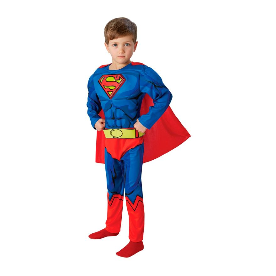 Superman Comic Book Costume Medium