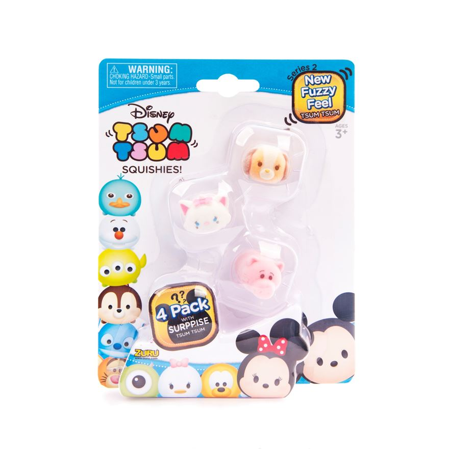 Disney Tsum Tsum Series 2 4 Pack