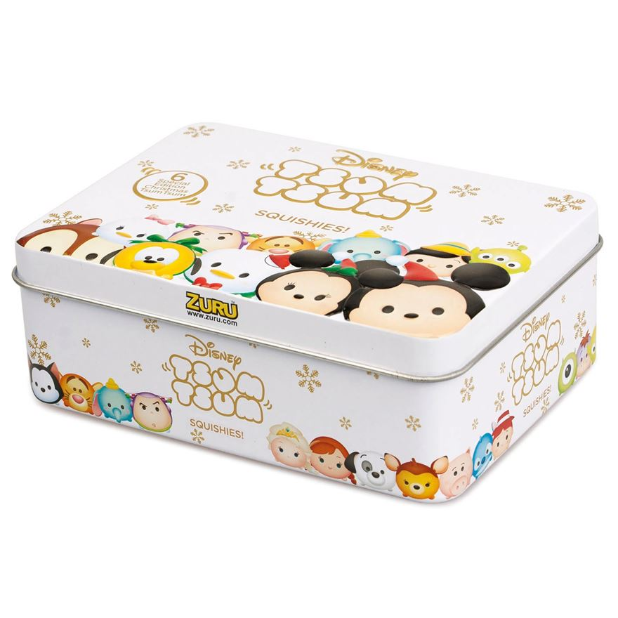 Disney Tsum Tsum Series 3 Christmas Tin