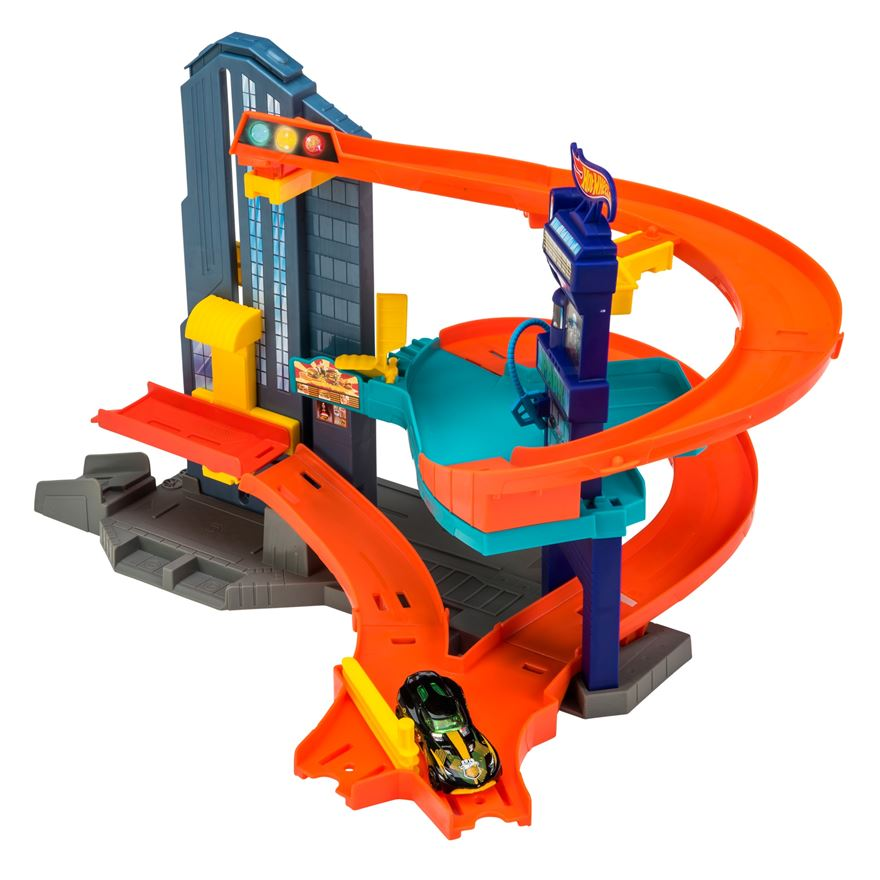 Hot Wheels Speedtropolis Blitz Playset image-0