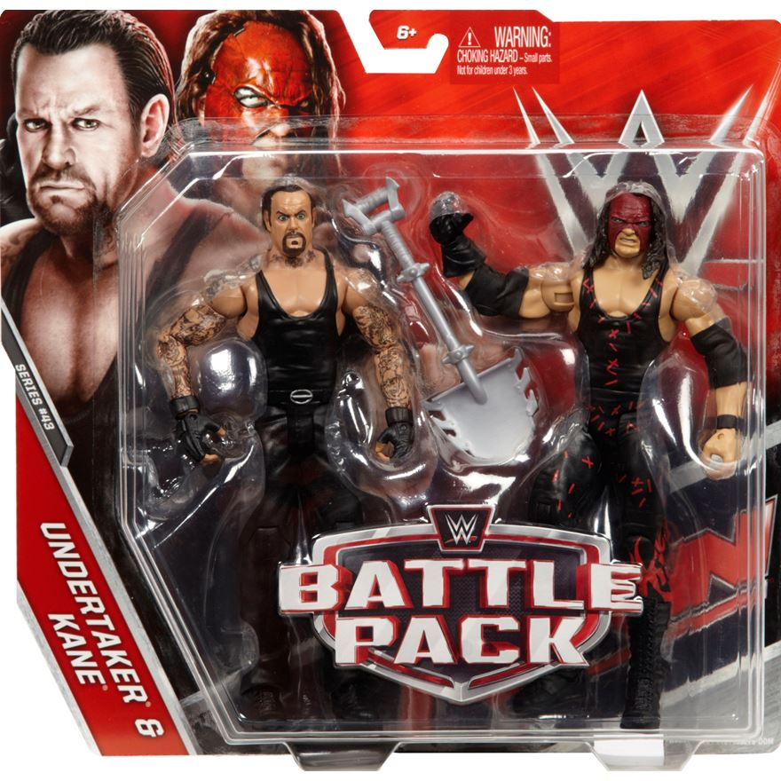 WWE Series 43 Battle Pack Kane and the Undertaker