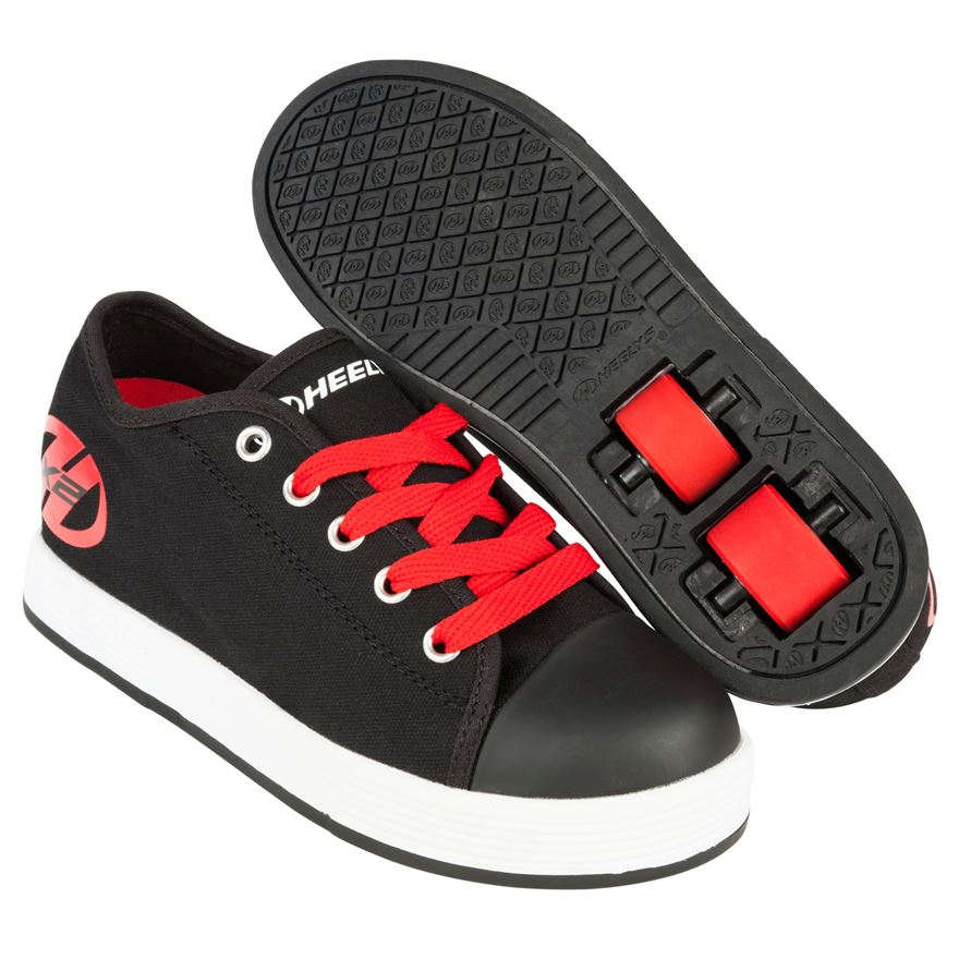 Heelys Fresh Black/Red UK 5 image-0