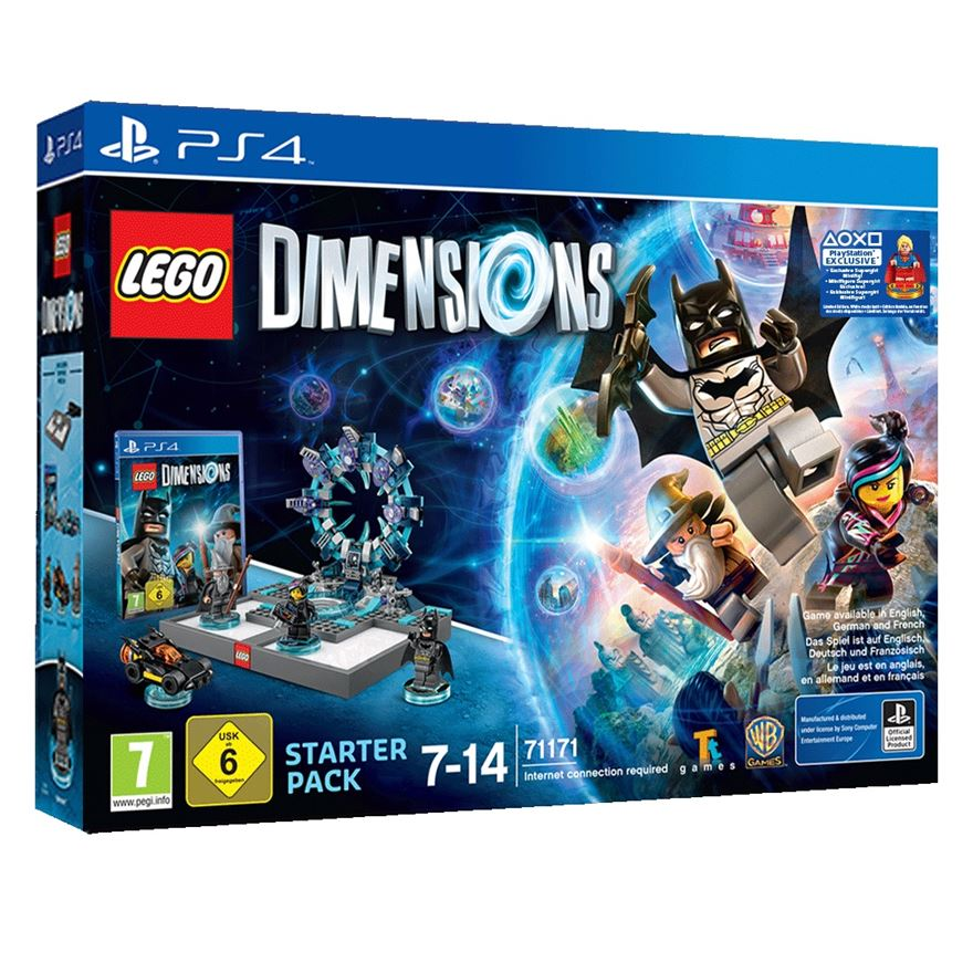 LEGO Dimensions Supergirl Starter Pack PS4 image-0