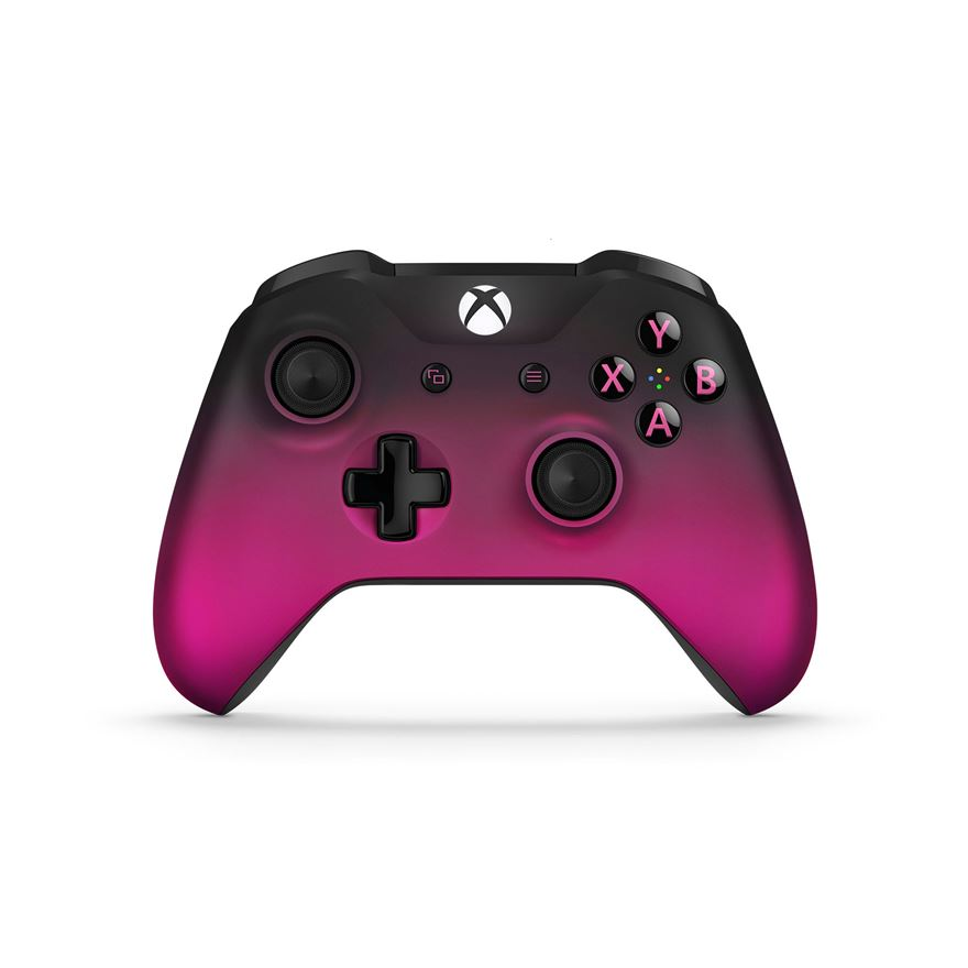 Xbox One Controller Magenta Shadow