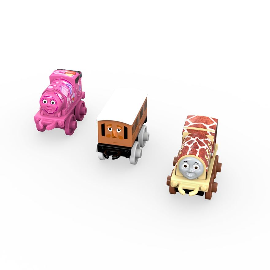 Fisher Price Thomas & Friends Minis 3 Pack - Assortment image-0
