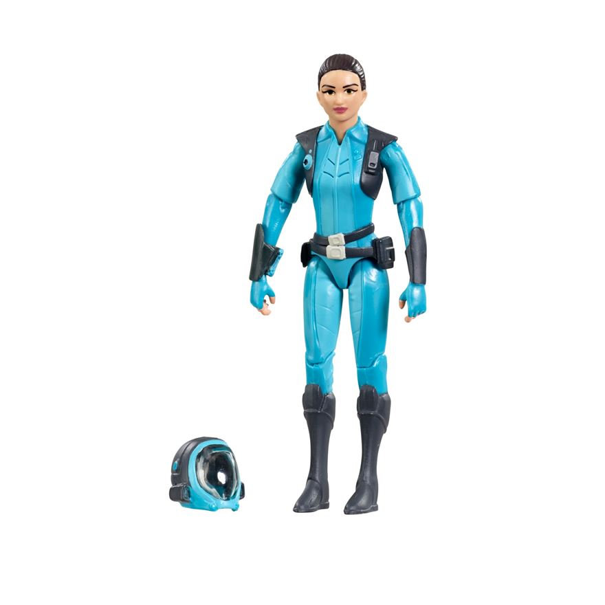 Thunderbirds Kayo Kyrano Figure and Accessories image-0