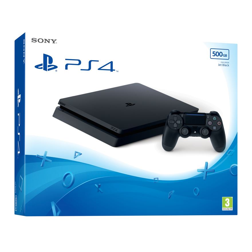 PlayStation 4 500GB Slim Console image-0