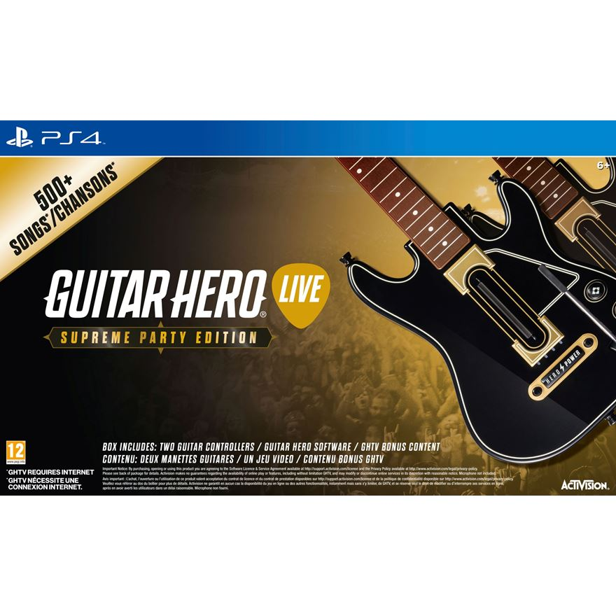 Guitar Hero Live: Supreme Party Edition PS4 image-0