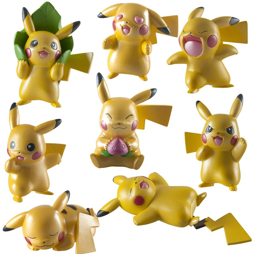 Pokémon 20th Pikachu 4 Pack