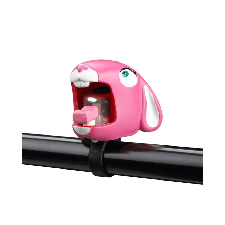 Crazy Safety Pink Bunny bell