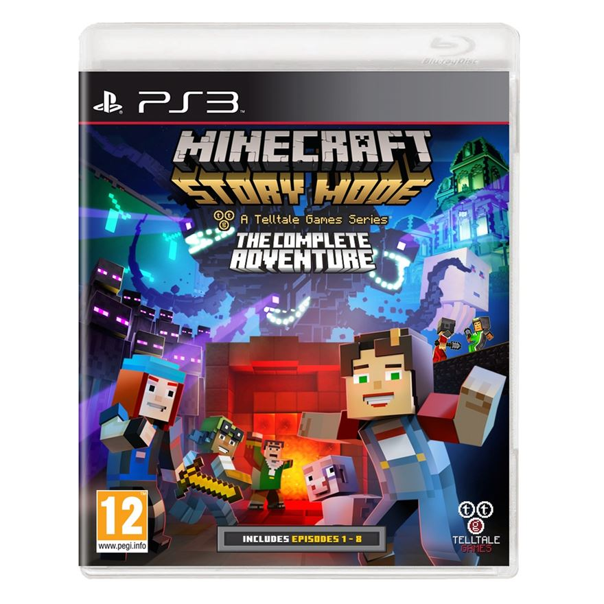 Minecraft Story Mode: The Complete Adventure PS3 image-0