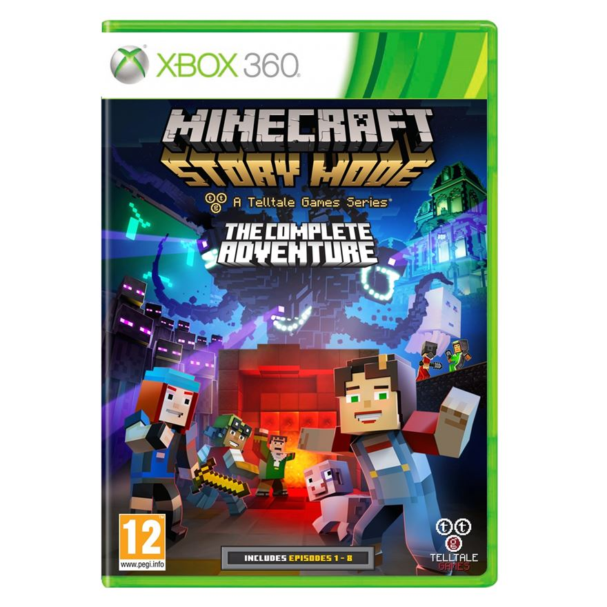 Minecraft Story Mode: The Complete Adventure X360 image-0