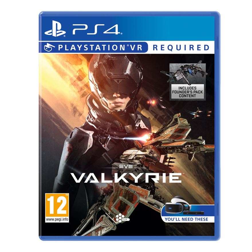 Eve Valkyrie VR PS4 image-0