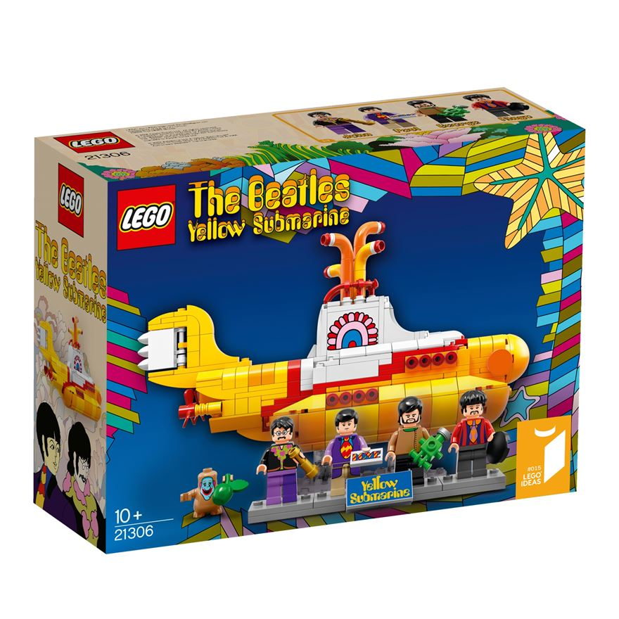 LEGO The Beatles Yellow Submarine 21306 image-0