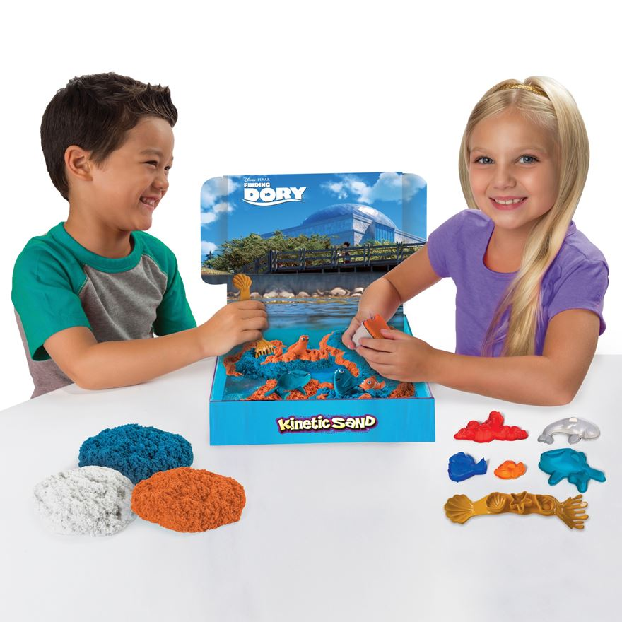 Finding Dory Kinetic Sand Dory's Adventure image-0