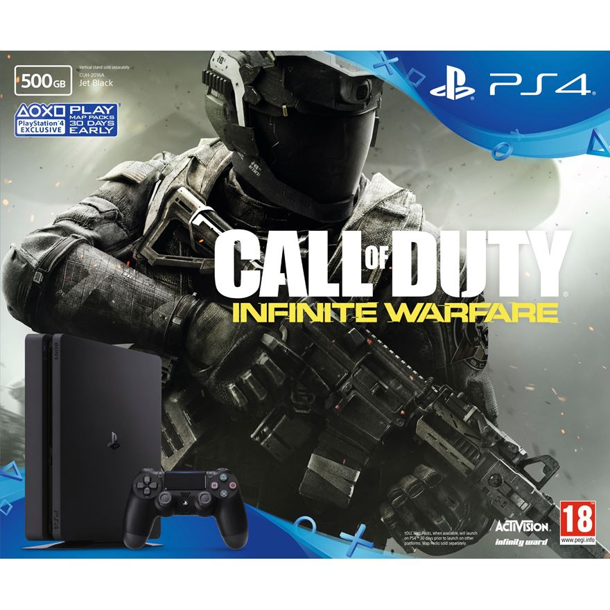 PS4 500GB Slim Call of Duty: Infinite Warfare Bundle image-0