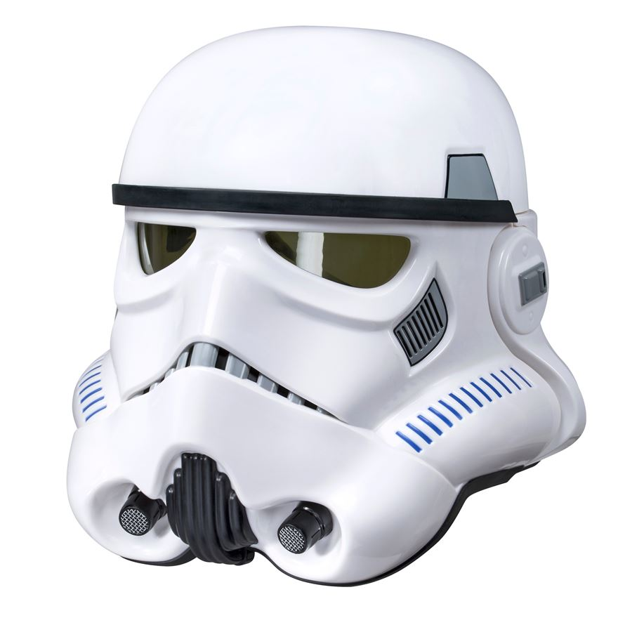 Star Wars The Black Series Imperial Stormtrooper Electronic Voice Changer Helmet image-0