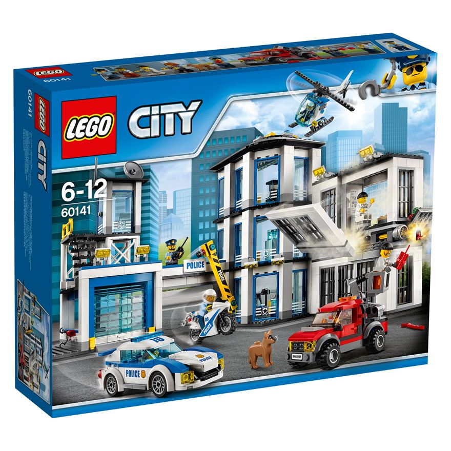 LEGO City Police Station 60141 image-0