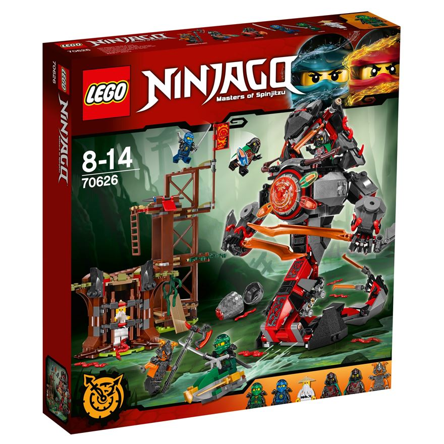 LEGO Ninjago Dawn of Iron Doom 70626 image-0