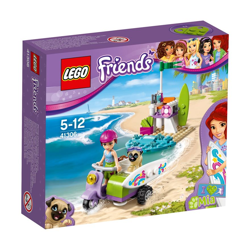 LEGO Friends Mias Beach Scooter 41306 image-0