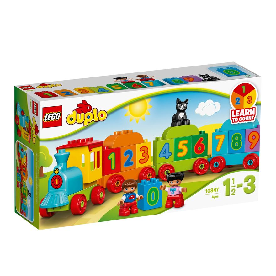 LEGO DUPLO Creative Play Number Train 10847 image-0