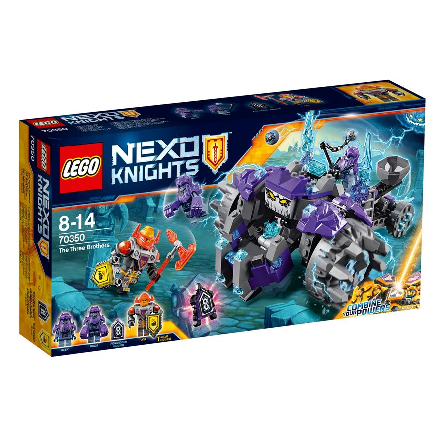 LEGO NEXO KNIGHTS The Three Brothers 70350 image-0
