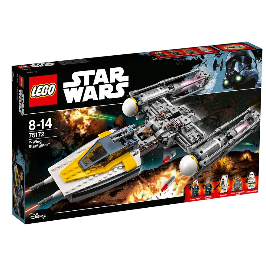 LEGO Star Wars Y-Wing Starfighter 75172 image-0